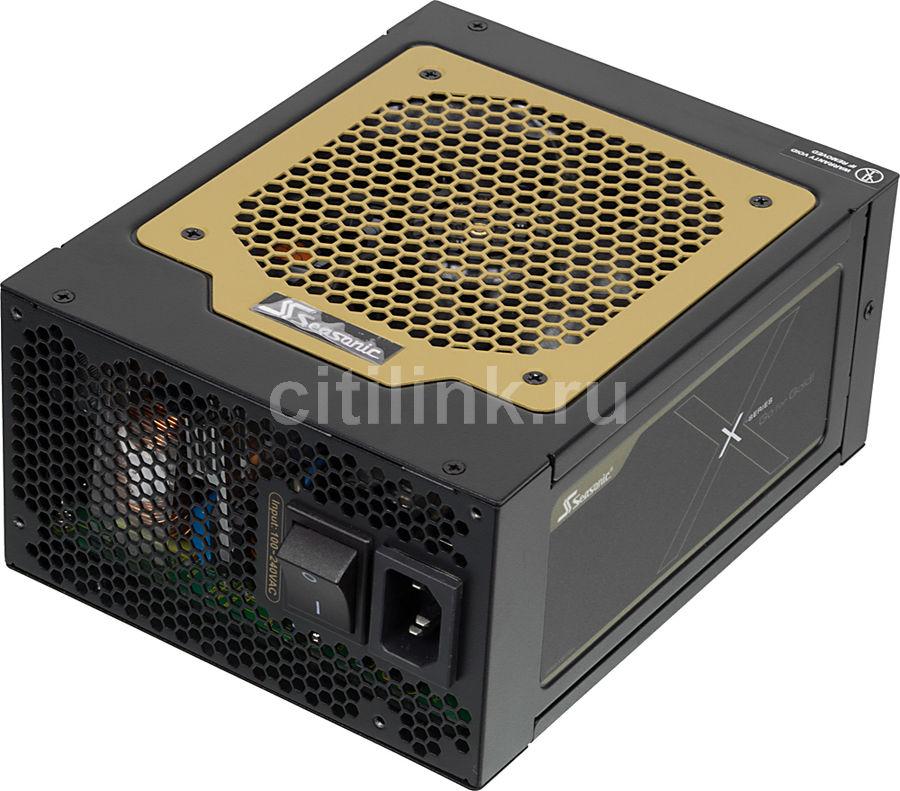 Блок питания SEASONIC GOLD 1050 (SS-1050X**),  1050Вт,  120мм,  черный, retail