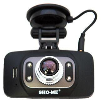 Видеорегистратор SHO-ME HD-8000G черный