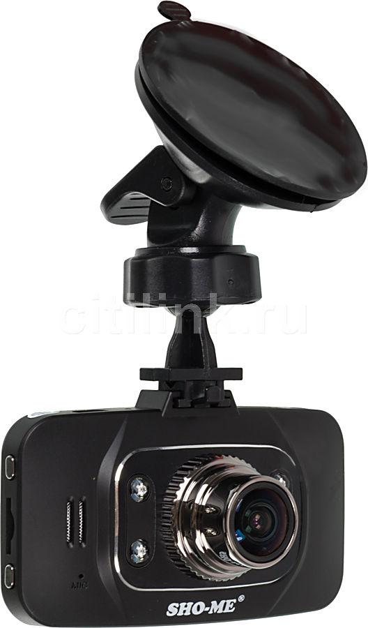 Видеорегистратор SHO-ME HD-8000F черный