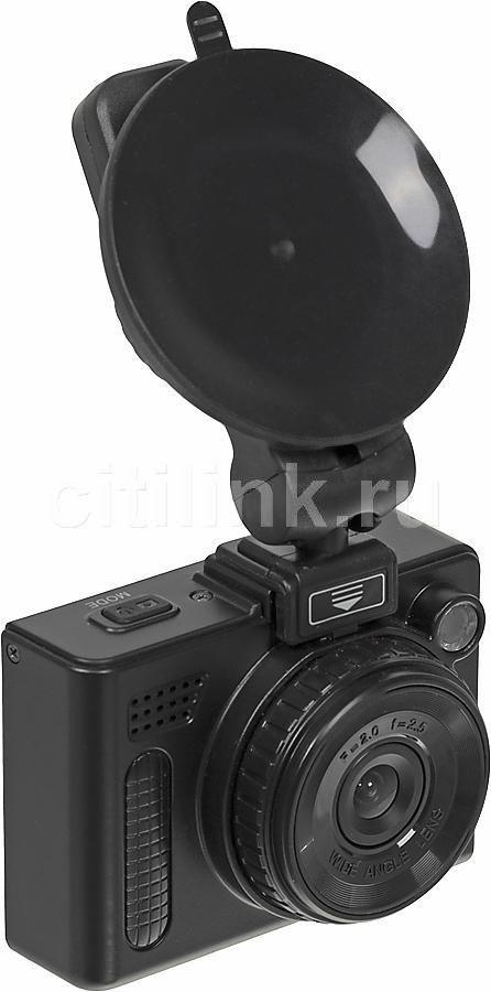 Видеорегистратор TEXET DVR-443 черный