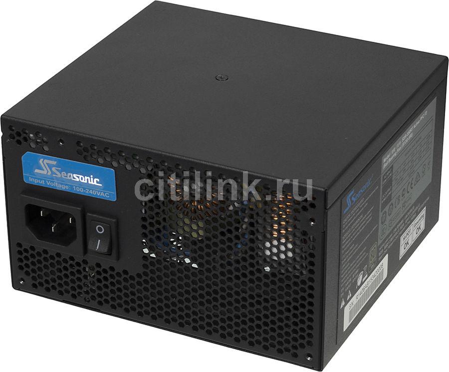 Блок питания SEASONIC S12G-550 (SSR-550RT),  550Вт,  120мм,  черный, retail