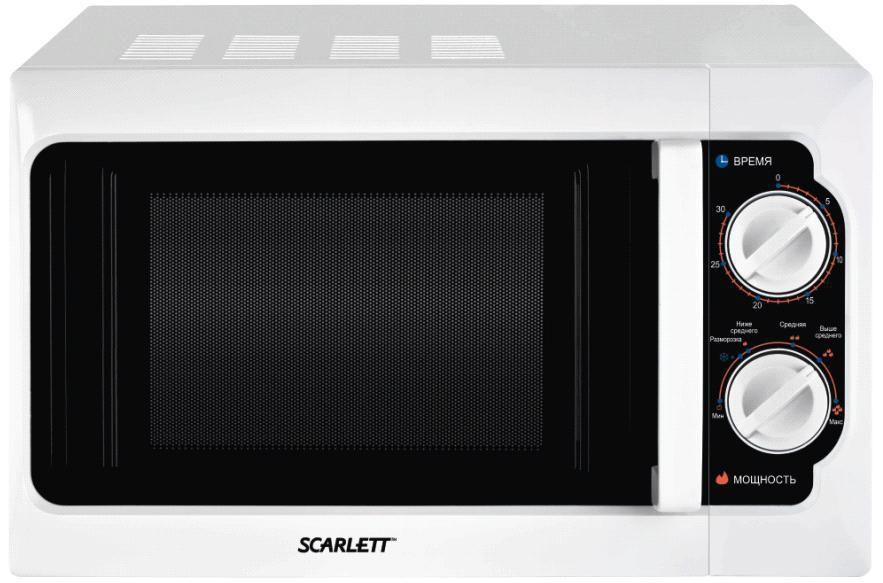 Микроволновая печь SCARLETT SC-1700, белый