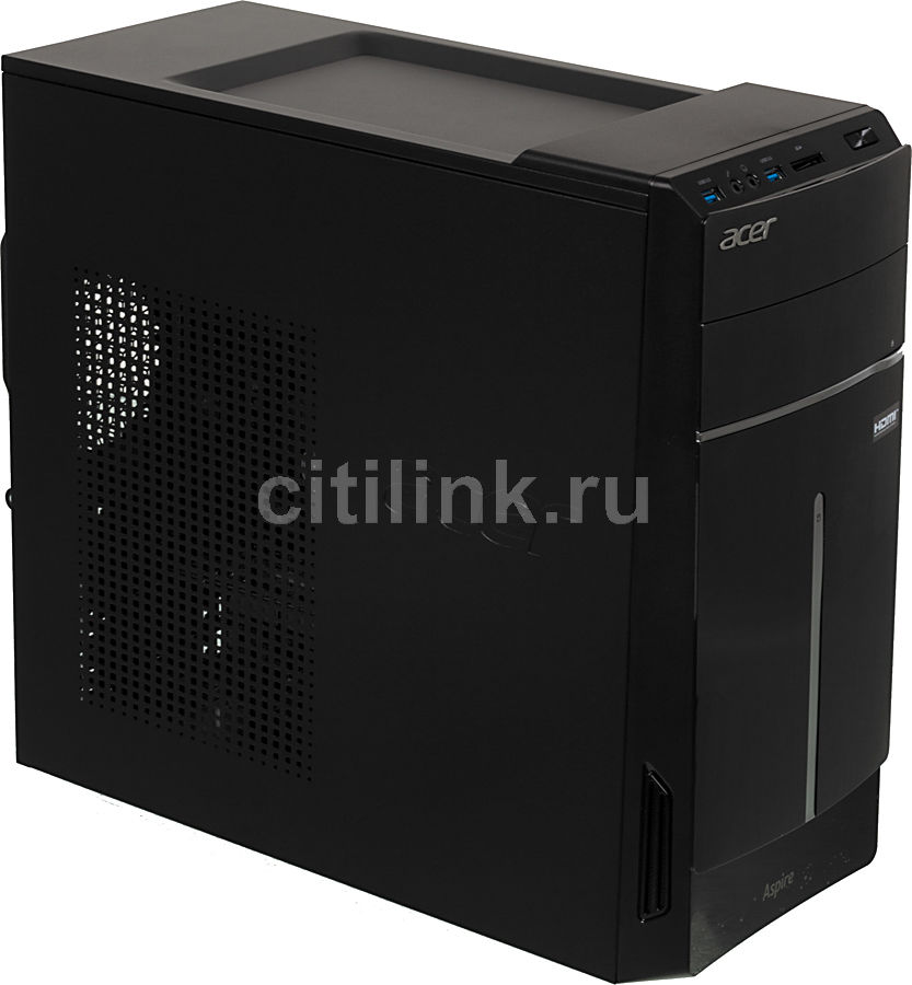 Компьютер  ACER Aspire TC-105,  AMD  A10  6700,  DDR3 4Гб, 1Тб,  nVIDIA GeForce GT620M - 1024 Мб,  DVD-RW,  CR,  Windows 8.1,  черный [dt.sreer.032]