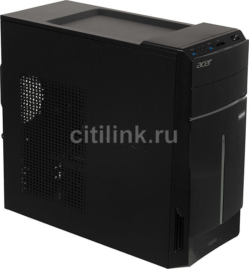 Компьютер  ACER Aspire TC-605,  Intel  Core i3  4130,  DDR3 4Гб, 1Тб,  AMD Radeon R7 240 - 2048 Мб,  DVD-RW,  CR,  Windows 8.1,  черный [dt.srqer.065]
