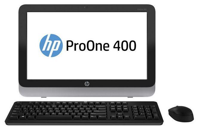 Моноблок HP ProOne 400 G1, Intel Core i3 4130T, 4Гб, 500Гб, Intel HD Graphics 4400, DVD-RW, Windows 7 Professional, черный и серебристый [d5u20ea]
