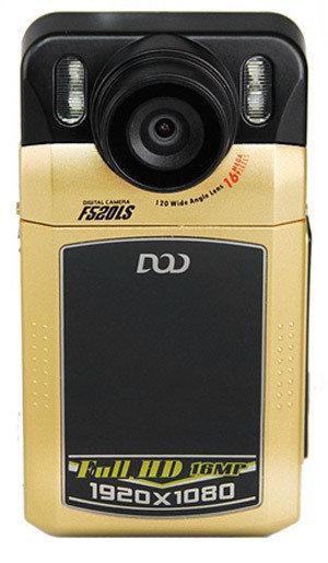 Видеорегистратор DOD F520LS черный