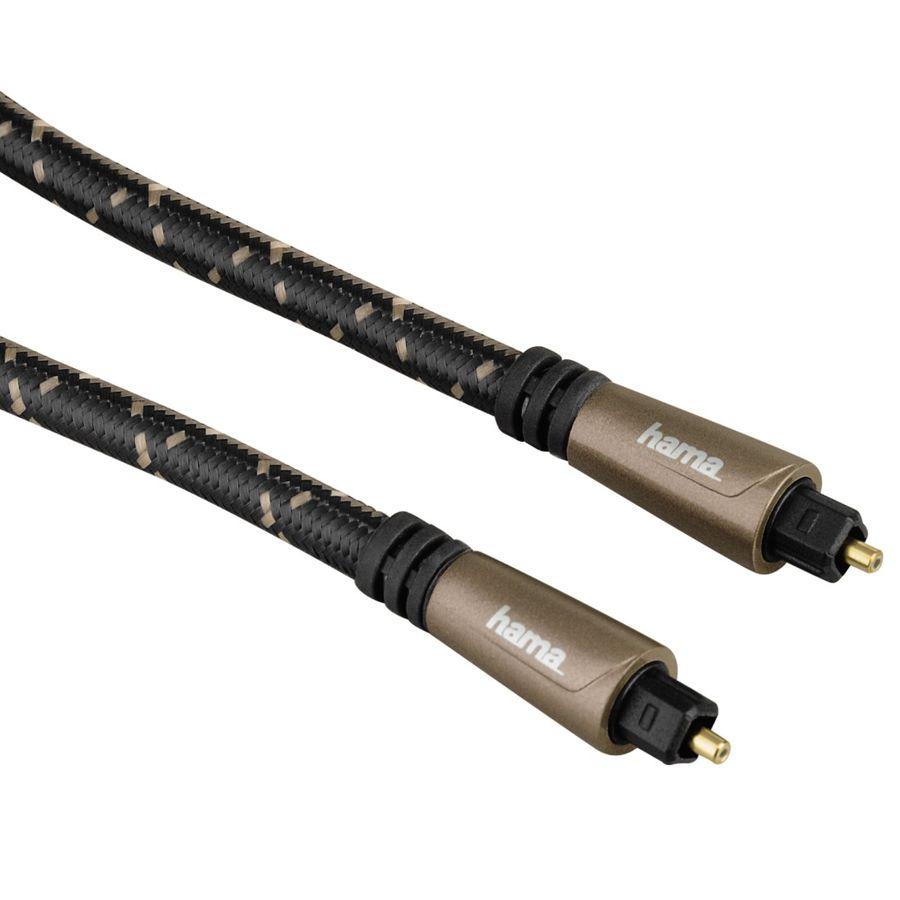 Кабель оптический HAMA TOS (m)  -  TOS (m) ,  1.5м, черный [00122262]