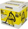 Пылесос Karcher WD2 1000Вт желтый/черный вид 11
