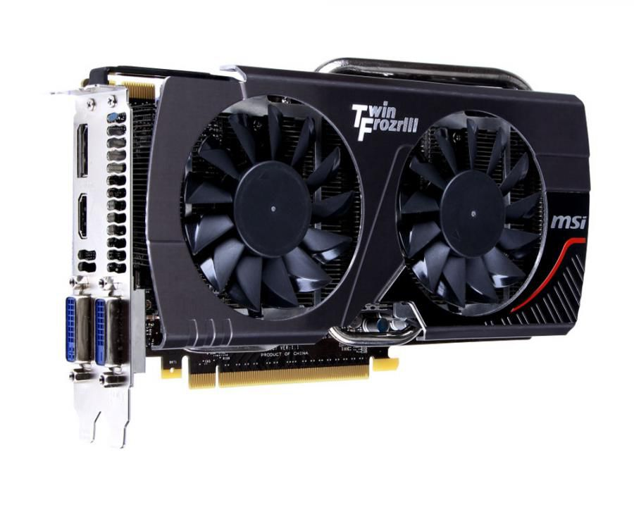 Видеокарта MSI GeForce GTX 660,  2Гб, GDDR5, Ret [n660 tf 2gd5]