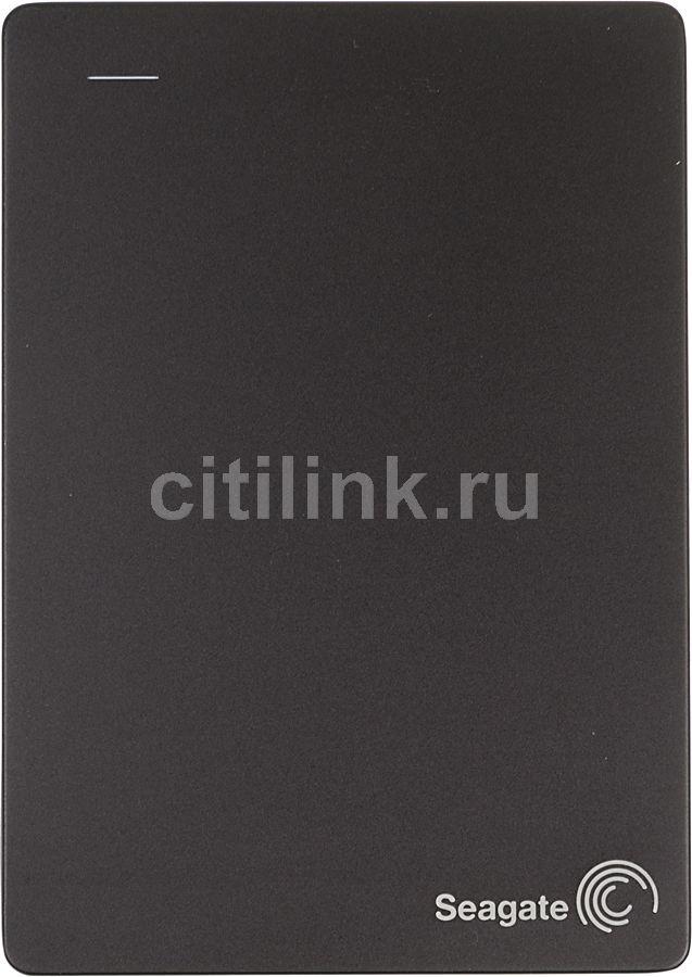 Внешний жесткий диск SEAGATE Backup Plus Fast STDA4000200, 4Тб, черный