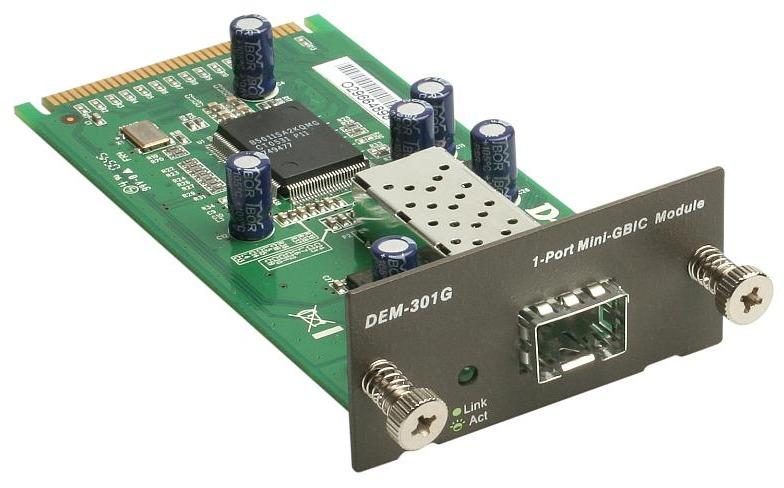 Модуль D-Link 1 -port SFP (DEM-301G)