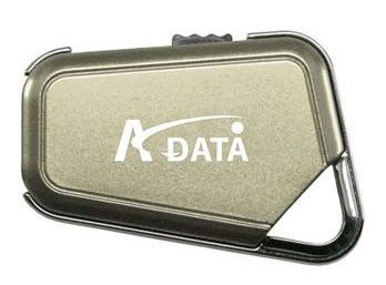 Флешка USB A-DATA Nobility PD17 2Гб, USB2.0, золотистый