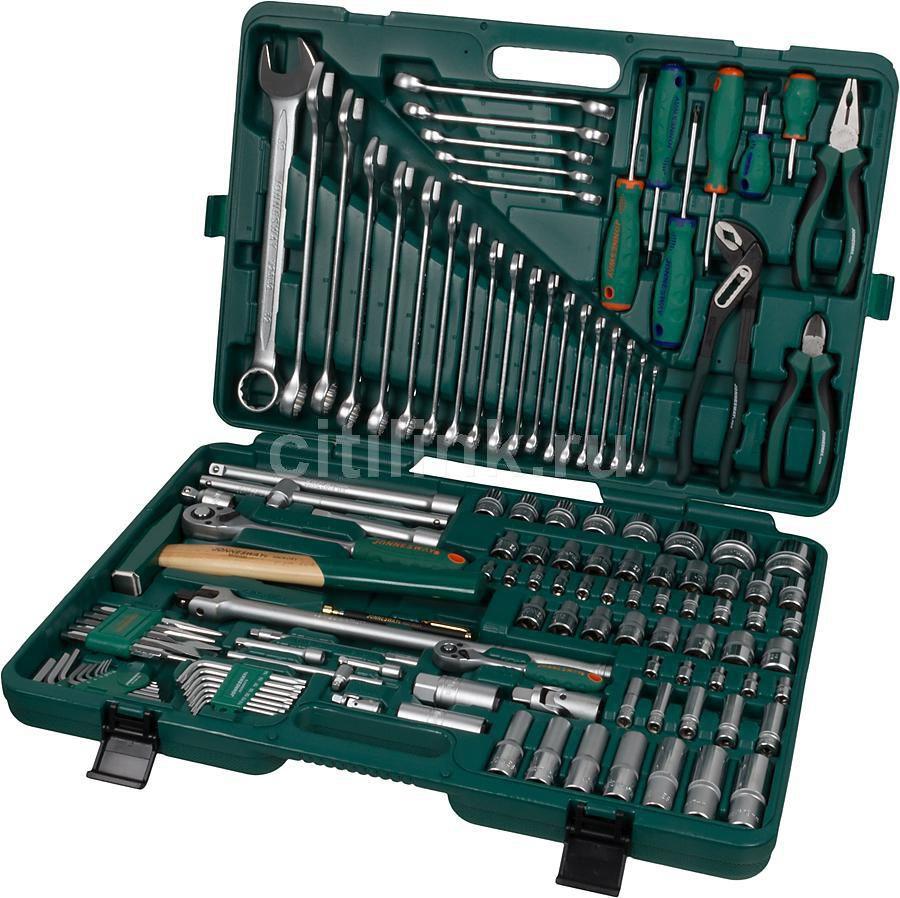 Набор инструментов JONNESWAY S04H524127S,  127 предметов [48740]