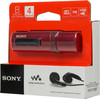 MP3 плеер SONY NWZ-B183FR flash 4Гб красный [nwzb183fr.ee] вид 7