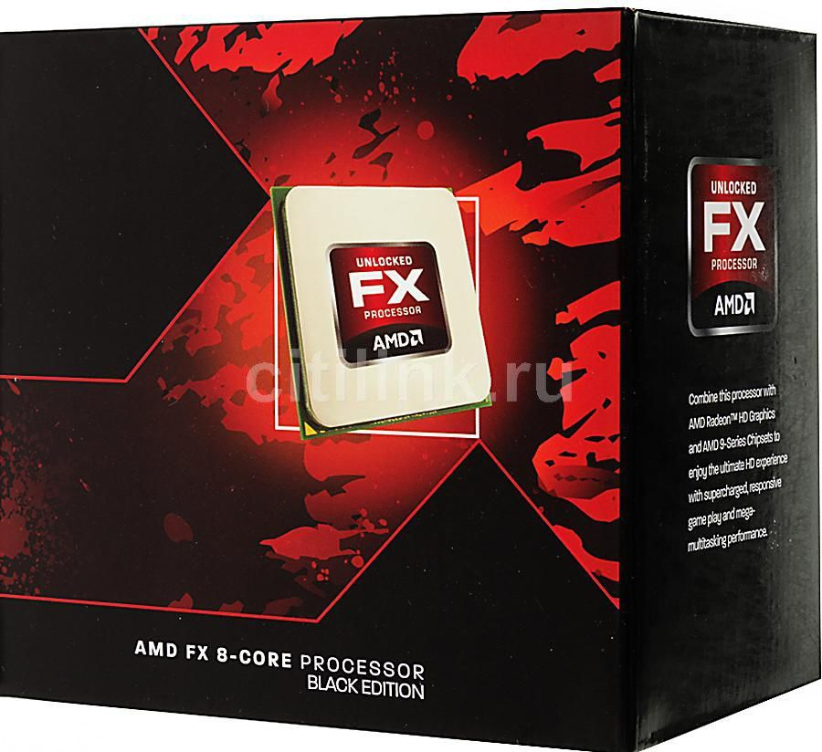 Процессор AMD FX 9590, SocketAM3+ BOX без кулера [fd9590fhhkbof]