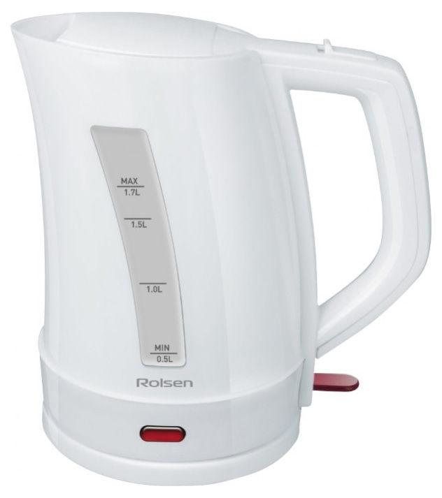 Чайник электрический ROLSEN RK2721PW, 1500Вт, белый