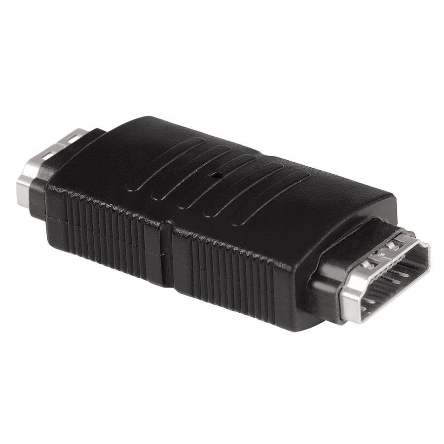 Адаптер аудио-видео HAMA HDMI (f)  -  HDMI (f) ,  черный [00122230]