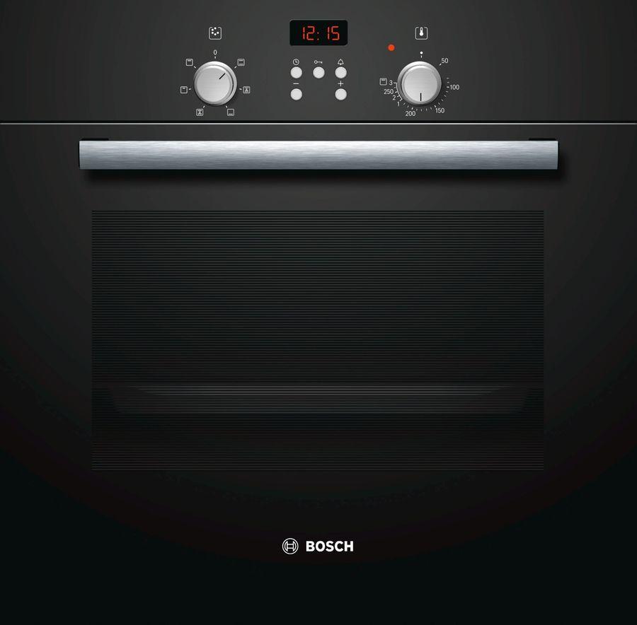 Духовой шкаф BOSCH HBN231S4,  черный