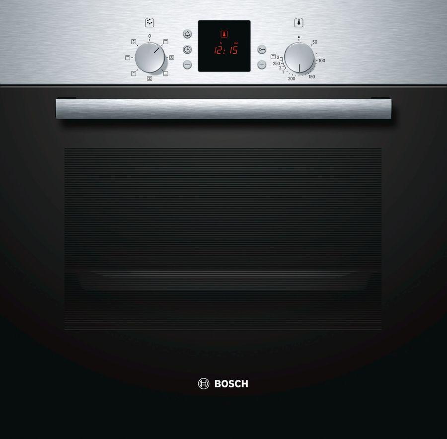 Духовой шкаф BOSCH HBN431E3,  серебристый