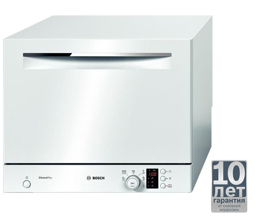 Посудомоечная машина BOSCH SKS62E22RU,  компактная, белая