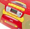Аудиомагнитола BBK BX111UC,  красный и желтый вид 5