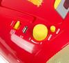 Аудиомагнитола BBK BX111UC,  красный и желтый вид 7
