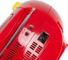 Аудиомагнитола BBK BX111UC,  красный и желтый вид 10