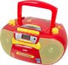 Аудиомагнитола BBK BX111UC,  красный и желтый вид 1