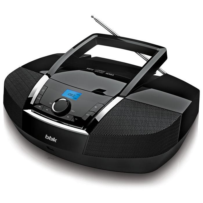 Аудиомагнитола BBK BX519U,  черный