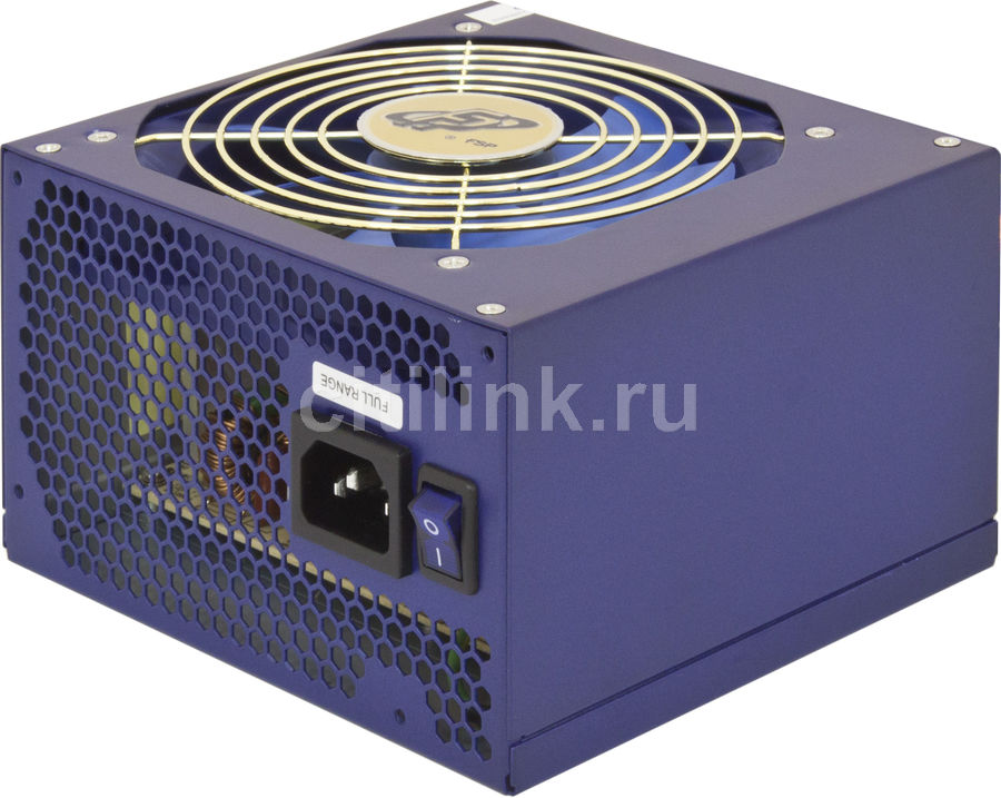 Блок питания FSP BlueStorm II 400,  400Вт,  120мм,  синий, retail