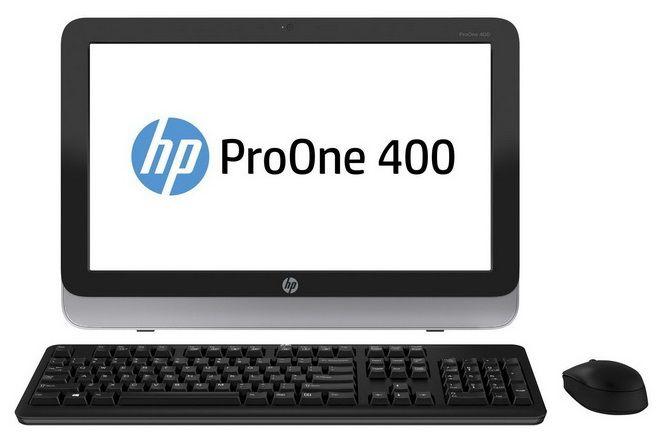Моноблок HP ProOne 400 G1, Intel Celeron G1820T, 4Гб, 500Гб, Intel HD Graphics, DVD-RW, Free DOS, черный и серебристый [d5u12ea]