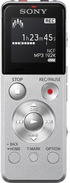 Диктофон SONY ICD-UX543 4 Gb,  серебристый [icdux543s.ce7]