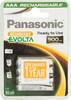 Аккумулятор PANASONIC Evolta HHR-4XXE/4B,  4 шт. AAA,  900мAч вид 1