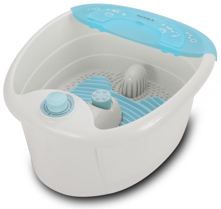Гидромассажная ванночка для ног SUPRA FMS-102,  белый,  бирюзовый