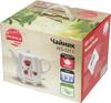Чайник электрический SUPRA KES-121C, 1000Вт, белый и рисунок вид 12