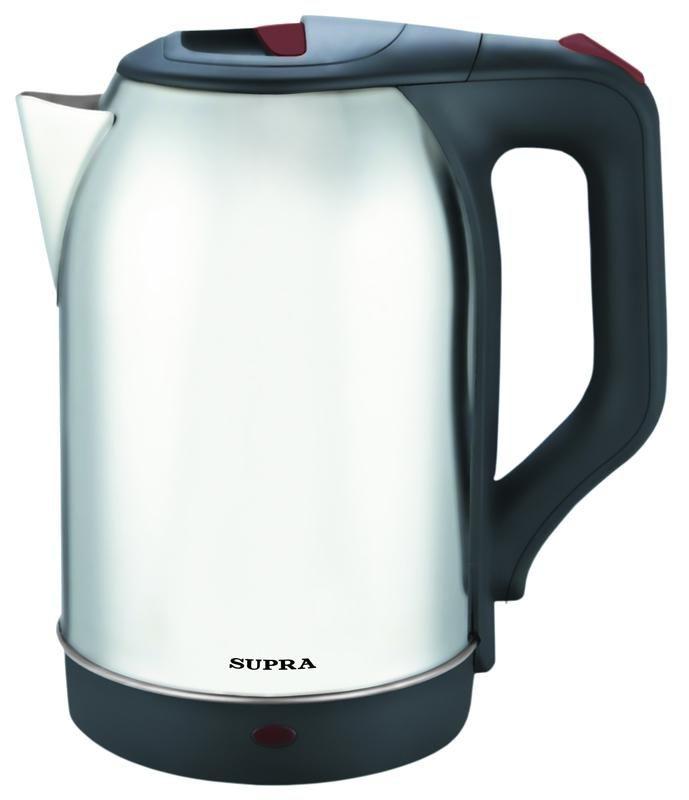 Чайник электрический SUPRA KES-2230, 2200Вт, серебристый