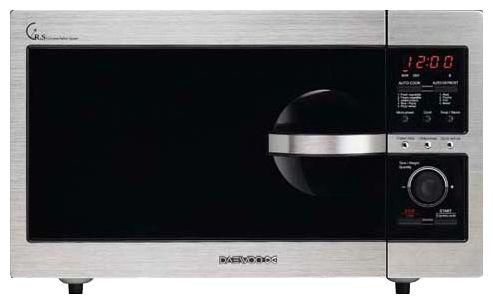Микроволновая печь DAEWOO KOR-8A4R, черный