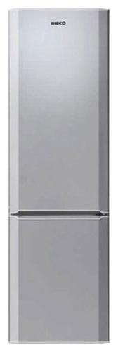 Холодильник BEKO CN 329100 S,  двухкамерный,  серебристый