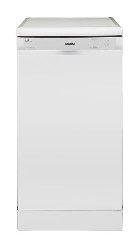 Посудомоечная машина BEKO DSFS 4530,  узкая, белая