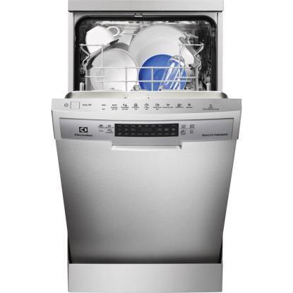 Посудомоечная машина ELECTROLUX ESF9470ROX,  узкая, серебристая