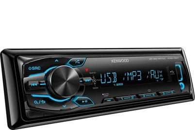 Автомагнитола KENWOOD KMM-120Y,  USB