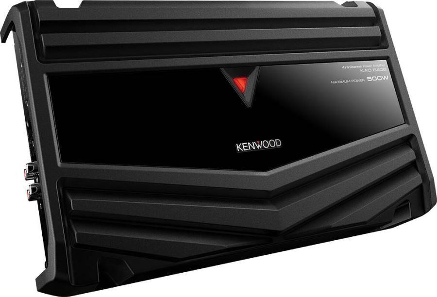 Усилитель автомобильный KENWOOD KAC-6406,  черный [kac6406]