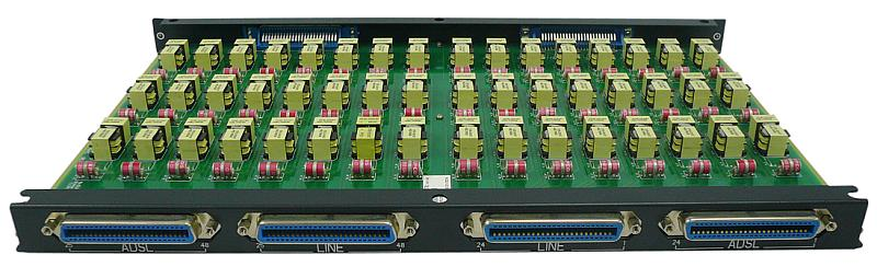 Модуль D-Link POTS Splitter Card 48 ports of ADSL Line and Phone connections (DAS-4192-40)