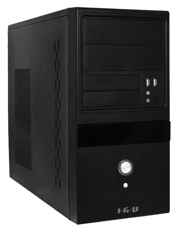 Компьютер  IRU Corp 310,  Intel  Core i3  3250,  DDR3 4Гб, 500Гб,  DVD-RW,  Windows 7 Professional,  черный [904788]