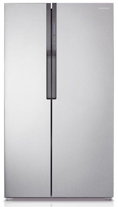 Холодильник SAMSUNG RS552NRUASL,  двухкамерный, серебристый [rs552nruasl/wt]