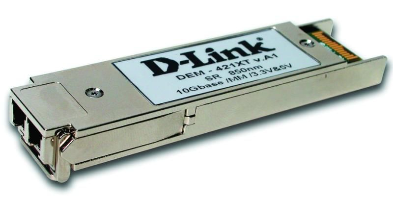Трансивер D-Link 10GBASE-SR XFP Compatible with IEEE803.3ae standard, XFP MSA (DEM-421XT)
