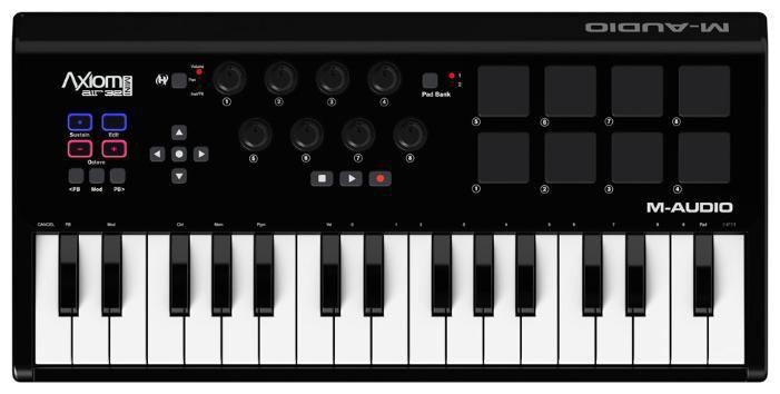 Клавиатура MIDI M-Audio Axiom AIR MINI 32 клав.:32 корпус:пластик черный