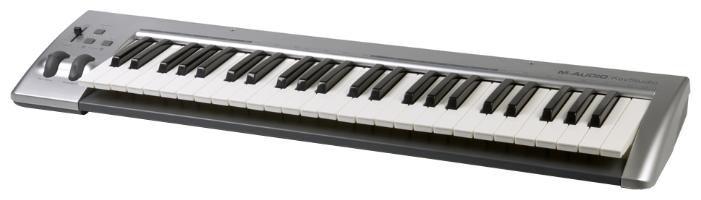 Клавиатура MIDI M-Audio Keystation 49es клав.:49 корпус:пластик черный
