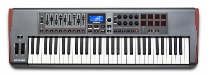 Клавиатура MIDI Novation Impulse 61