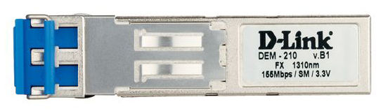 Трансивер D-Link 100BASE-FX Single-Mode 15KM SFP Transceiver (DEM-210)